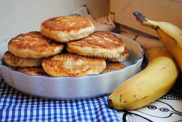 Сырники с бананами – полезно и вкусно