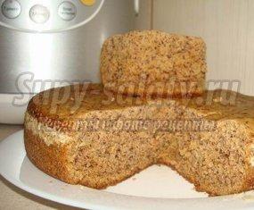 Печем пирог с бананами в мультиварке