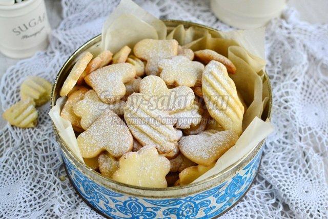 Рецепты печенья с смальцем