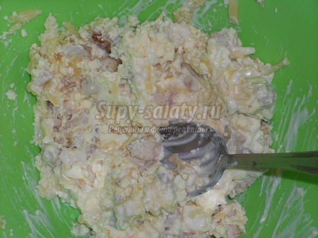 Салат из опят