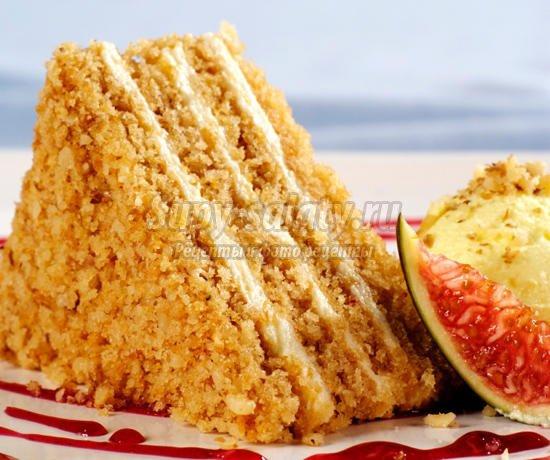 Рецепты медовых тортов. ТОП-10 к праздничному столу