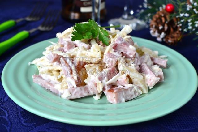 салат из курицы с грибами самый вкусный рецепт