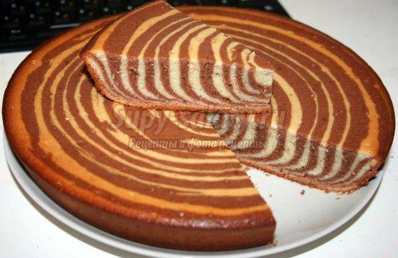 Торт Зебра: популярные рецепты с фото