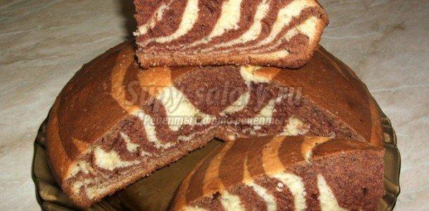 торт зебра рецепт на майонезе