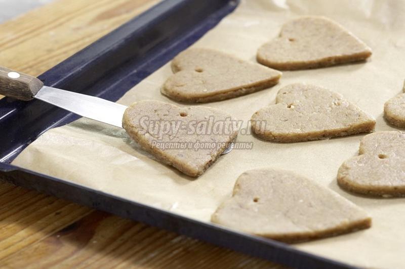 печенье ёлочные украшения