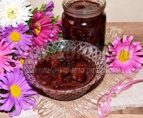 Сливовое варенье с виноградом. Рецепт с пошаговыми фото