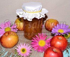 Яблочное варенье с мятой. Рецепт с пошаговыми фото