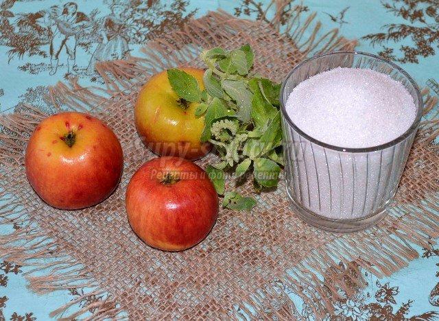 Смородиновое варенье с мятой