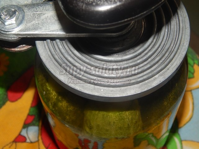 Огурцы маринованные