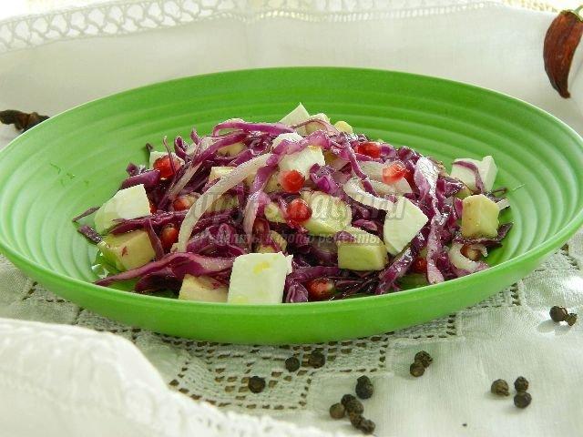 Салат из белой капусты рецепт с очень вкусный
