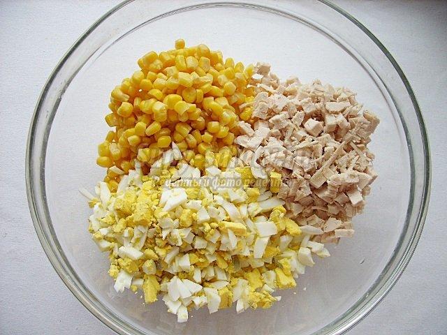 салат с брынзой и орехами