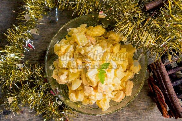 Салат из консервированного тунца и картофеля рецепты