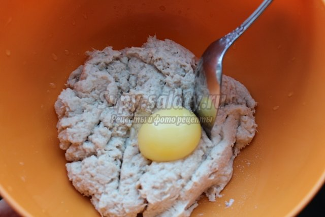 Блюдо для детского стола суфле из курицы