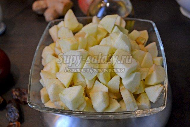 Острый яблочный чатни
