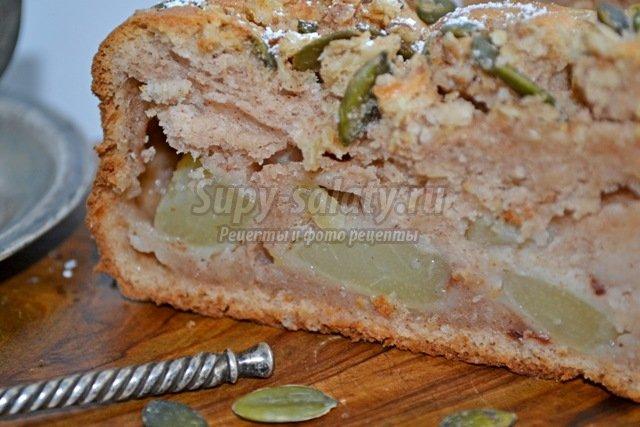 Диетический рецепт пирога с тыквой