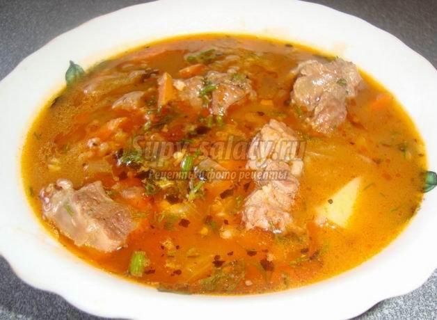 Готовим суп харчо в домашних условиях