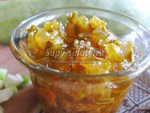 варенье из кабачков: популярные рецепты с фото