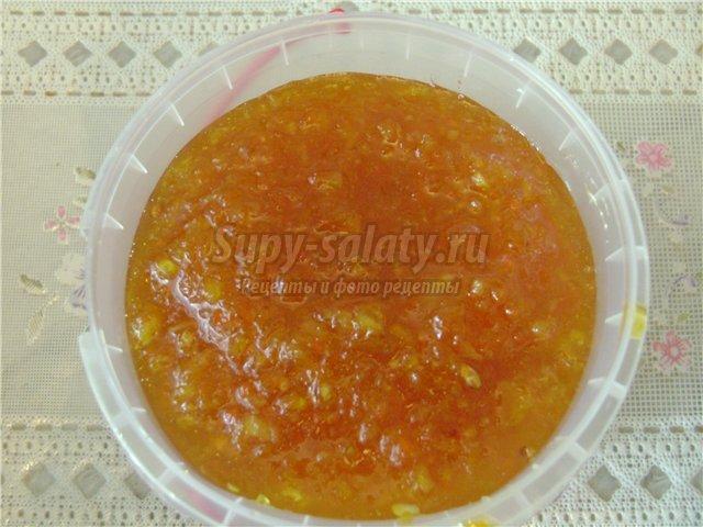 Варенье из апельсин рецепты с фото