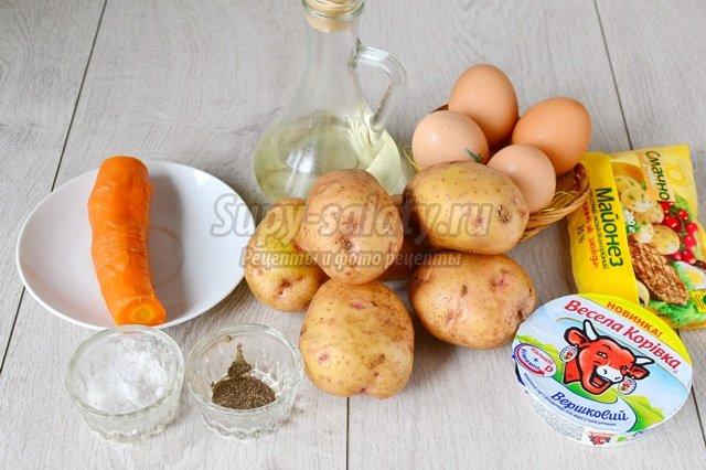 Закусочный картофельный торт