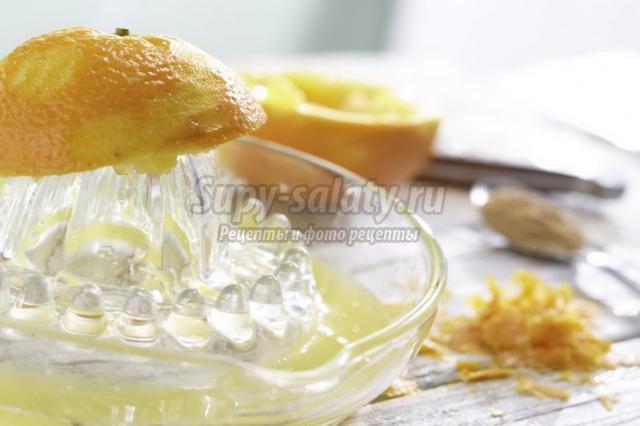 яблочный торт с облепихой и апельсином