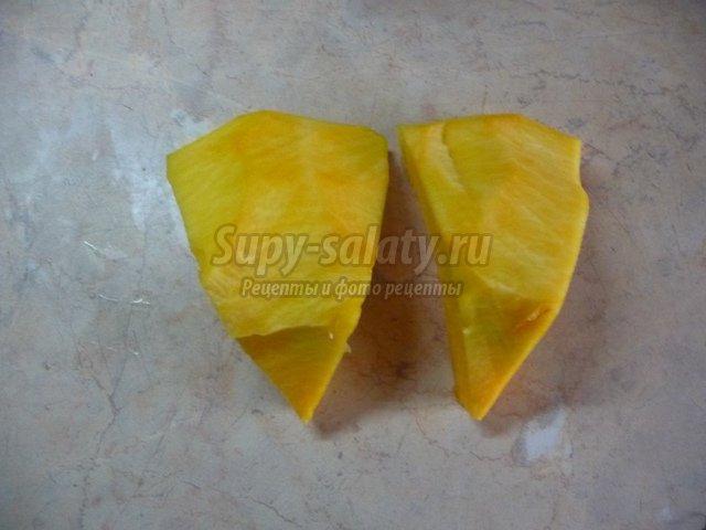 Омлет из тыквы с сыром