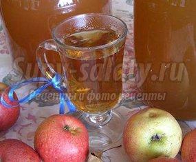 Сок из яблок в соковарке - отличная заготовка