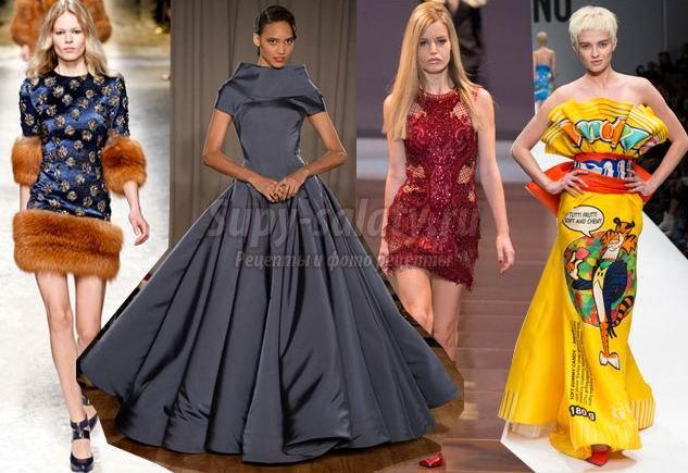 Самые модные платья 2015 года