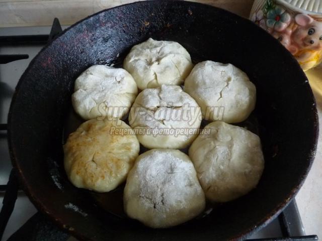 зразы с грибами на картофельном тесте