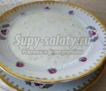 молочный суп-затирка