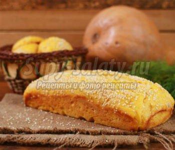 морковно-тыквенный хлеб и булочки