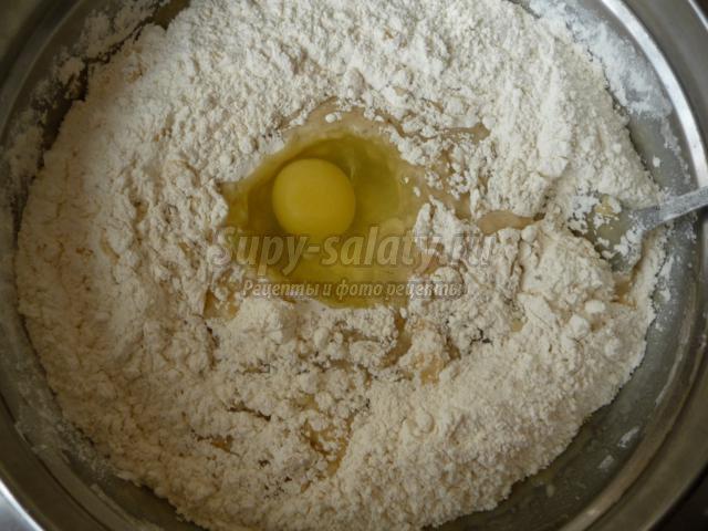 вкусное печенье на рассоле