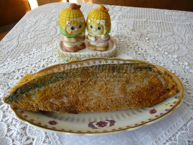рыбный рулет из скумбрии