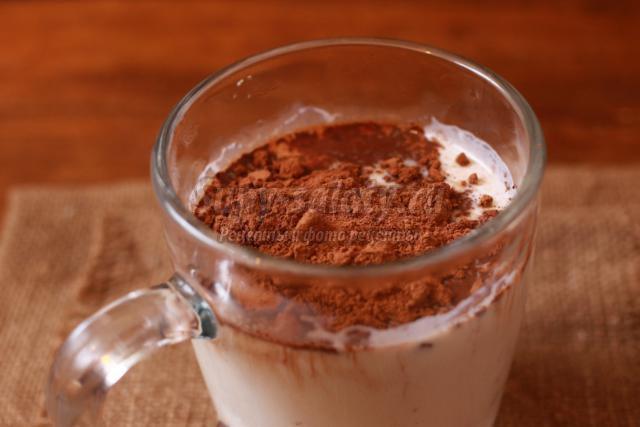 какао с молоком