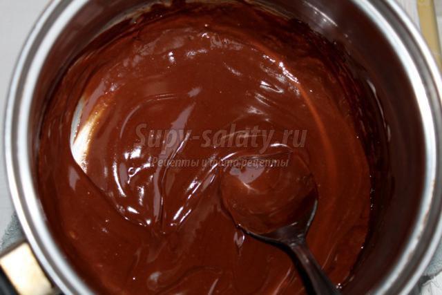 шоколадный торт. Пьяная вишня