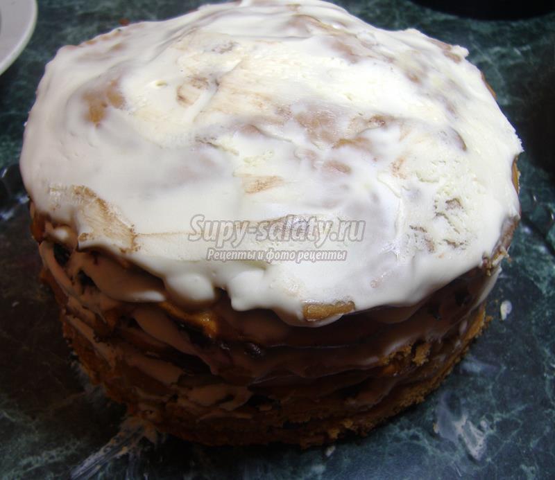 торт с гномом