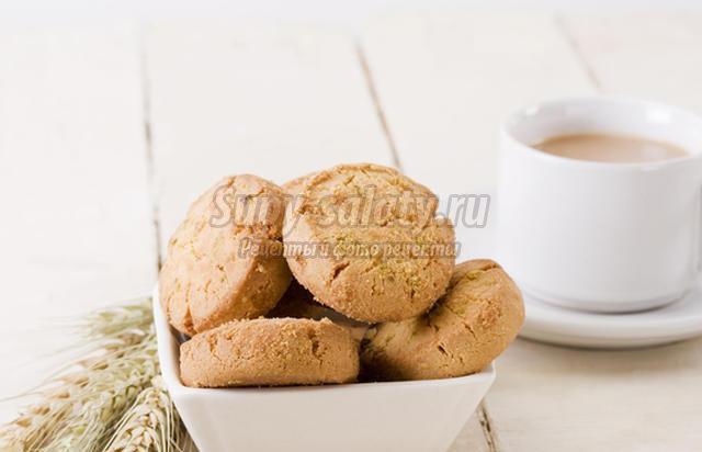 Готовим домашнее печенье на скорую руку