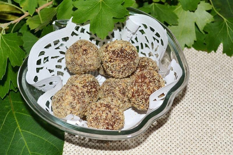 Конфеты из какао в домашних условиях рецепт с фото