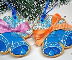 Печенье Новогодние колокольчики