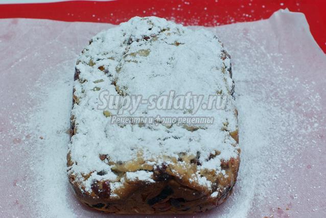 Рождественский штоллен в хлебопечке