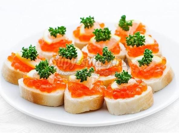 Простейшие закуски. ТОП-10 лучших на праздничный стол