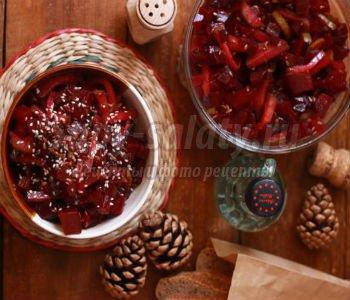 Салат красная роза рецепт с фото