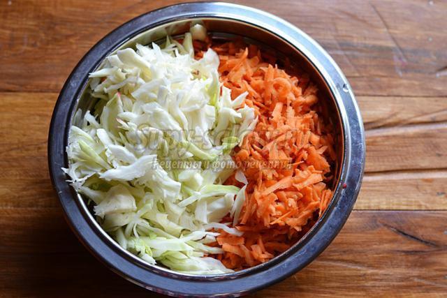 салат со свеклой и капустой на зиму