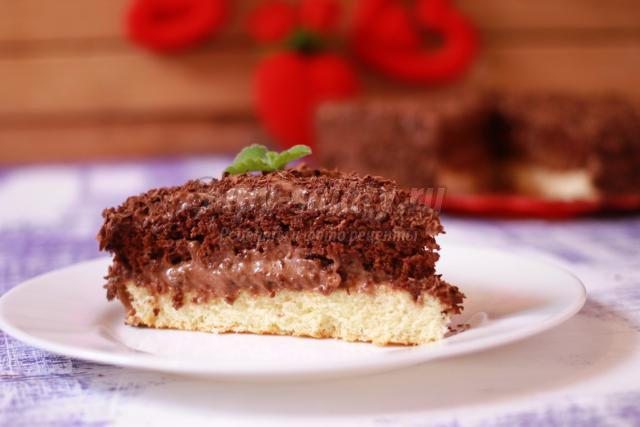 шоколадный торт ко Дню Валентина