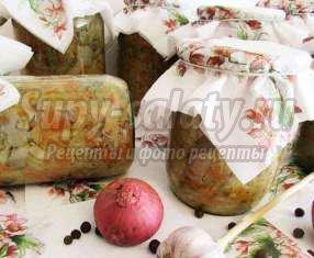 Готовим солянку с грибами на зиму