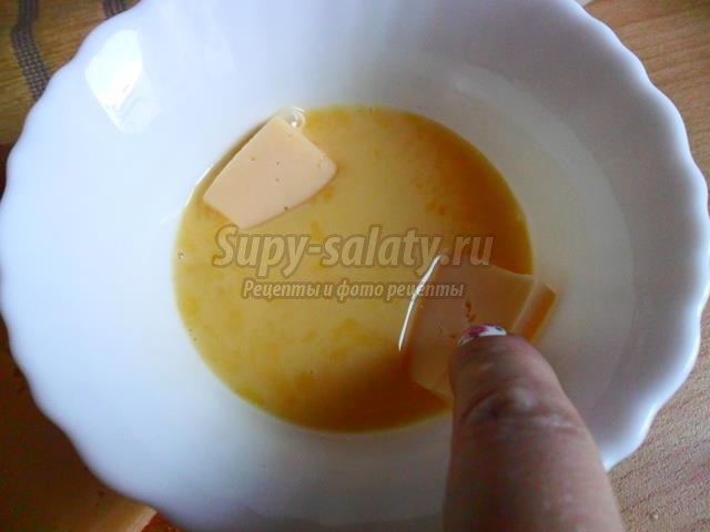 Жареный сыр в сухарях по-чешски