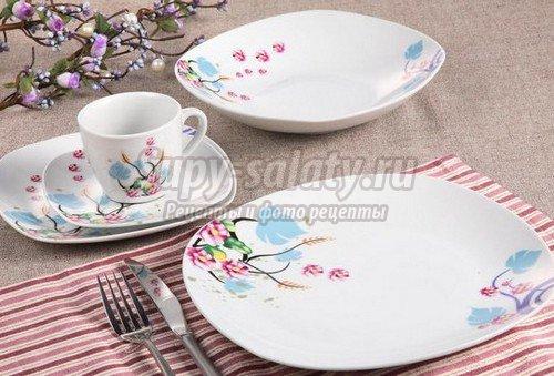 Выбор тарелок: материалы и виды