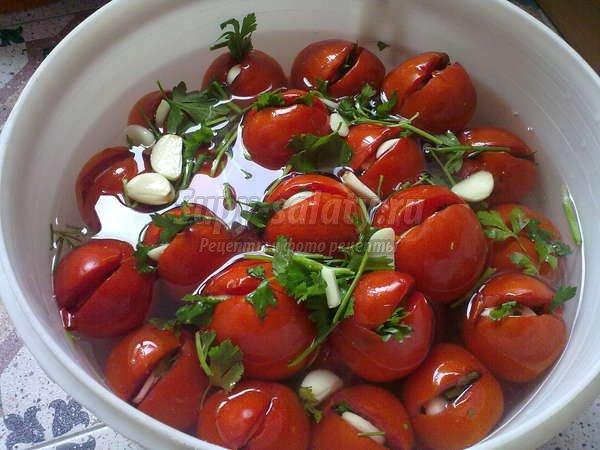 Квашеные помидоры: лучшие рецепты заготовок