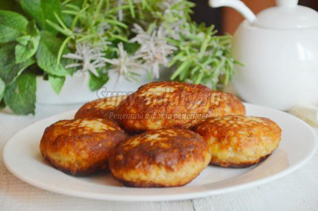 Куриные котлеты с картофелем рецепт с фото