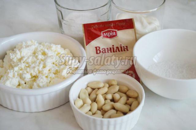 творожные шарики «Рафаэлло» с арахисом