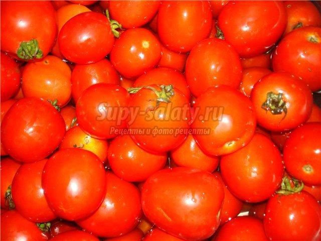 помидоры на зиму без стерилизации: лучшие рецепты с фото